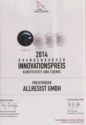 Urkunde_Innovationspreis-Brandenburg2014