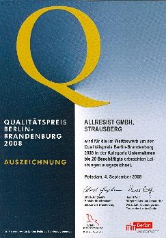UrkundeQualitaetspreis