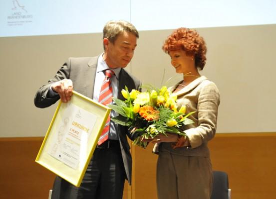 Unternehmerin des Landes Brandenburg 2014