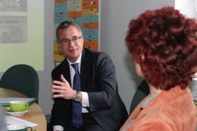 Besuch vom Wirtschaftsminister Albrecht Gerber 3