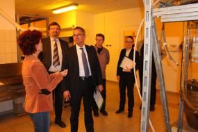 Besuch vom Wirtschaftsminister Albrecht Gerber 2